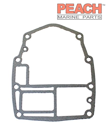 00 Powerhead Gasket - Peach Marine Parts PM-6H4-45113-A0-00 Gasket, Powerhead Base; Replaces Yamaha: 6H4-45113-A0-00, 6H4-45113-00-00 Made by Peach Marine Parts