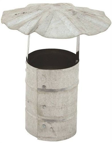 Billy Penn 8100 Galvanized Steel Roof Cap 3
