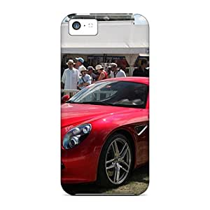 Special Design Back Red Alfa Phone Case Cover For Iphone 5c
