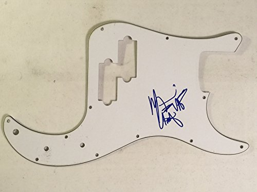 Bass Van (Michael Anthony Signed Autograph Bass Guitar Pickguard Van Halen)
