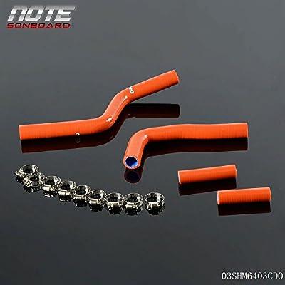 Silicone Radiator Coolant Hose Pipe Kit For YAMAHA YZ125 YZ 125 03-08 04 05 06: Automotive