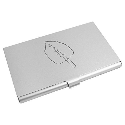 Credit CH00007045 Azeeda Card Card 'Single Wallet Holder Leaf' Business XXa1BH
