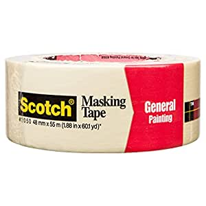 3m 2050 Scotch Masking Tape For General Painting 1 88
