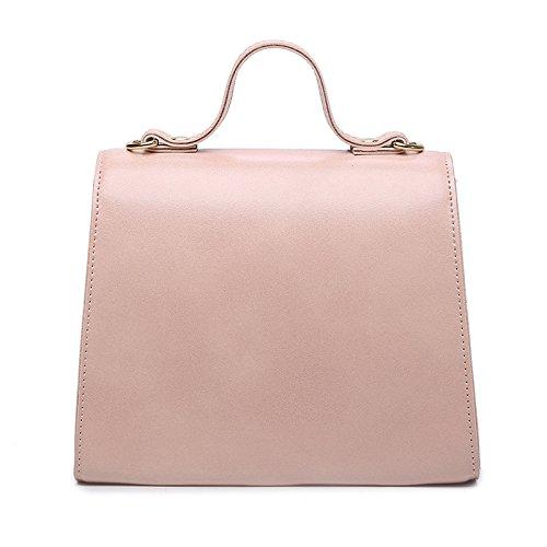 Pink Nuovo Moda Sencillo Gwqgz Marrone Borsa Temperamento Signora Sacchetto Modo Di Della Dama Bolsa Nueva De Rosa Hombro Semplice Marrón Spalla Bolso xCwTYwRqE