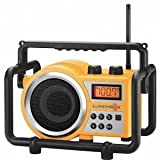 Sangean Lunchbox Compact FM/AM Ultra Rugged Radio Receiver