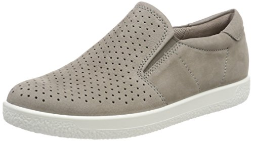 Ecco Dames Soft 1 Sneaker Beige (warmgrey)