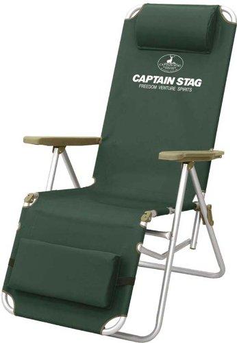 Captain Stag Cs Aluminum Relax Chair Green M 3869
