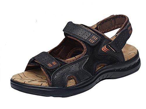 Aire Hombres Negro Zapatos para Verano Perfecto de para Insun Libre Caminar Sandalias Al w6vgqnB