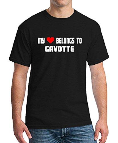 MY HEART BELONGS TO GAVOTTE Dancing Club T-shirt Men's Women's Unisex Medium