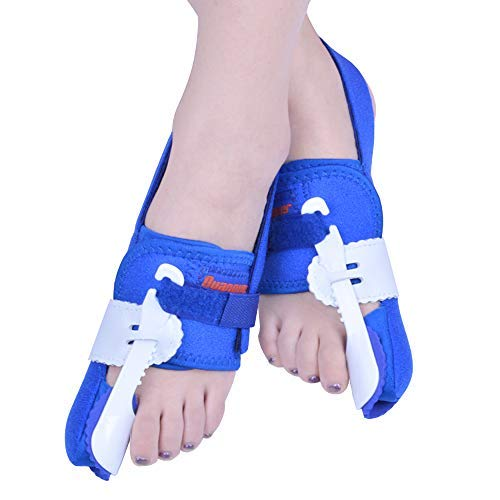 Bunion Corrector [Pair] - Improved Bunion Splint Big Toe Straightener Separators for Hallux Valgus Pain Relief Fits Men & Women