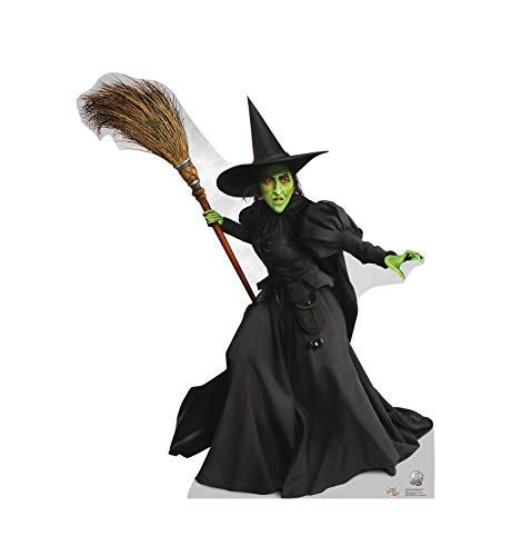 Advanced Graphics Wicked Witch of the West Life Size Cardboard Cutout Standup - The Wizard of Oz 75th Anniversary (1939 Film)