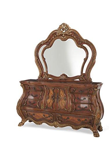 Michael Amini Chateau Beauvais Dresser Mirror, Noble Bark