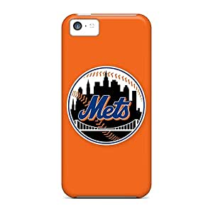 First-class Case Cover For Iphone 5c Dual Protection Cover Baseball New York Mets 1