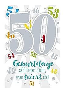 Depesche 5698.067 Tarjeta de felicitación con música, 50 ...