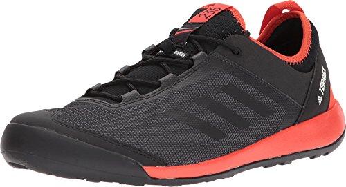 (adidas outdoor Men's Terrex Swift Solo Black/Black/Energy 9.5 D US)
