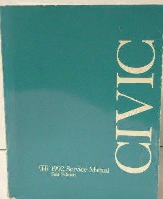 Honda Civic Service Manual 1992