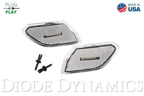 - LED Sidemarkers for 2018-2019 Jeep JL Wrangler Clear (set)