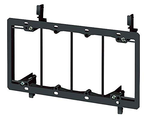 Arlington PVC Mounting Bracket, For Use With Low Voltage Class 2 Outlets - LV4, (Pack of 5)