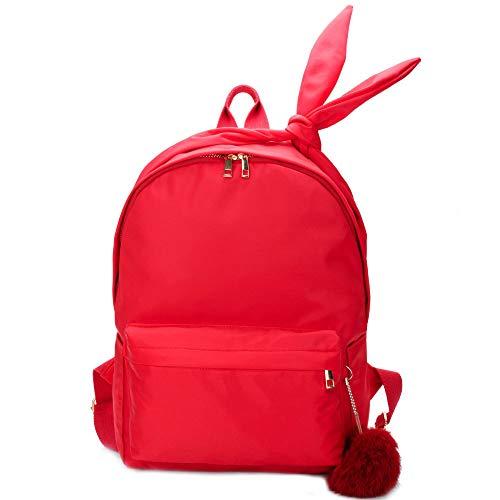 Moda Red De De De Mariposas Para Viaje Bolsas Mochila Hombro De Mujer Mochila Decoración Informal Bolso 5pxSgS