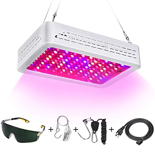 2019 Newest LED Grow Lights 1000w Full Spectrum Plant Growing Lamps for Greenhouse Indoor Plant with Veg and Flower
