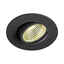 Slv new tria - Downlight led dl set circular 25w 3k negro