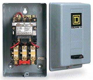 Schneider Electric / Square D 8536SCG3V02S Full Voltage Starter 27 Amp Non-Reversing 3 Phase 3 Pole