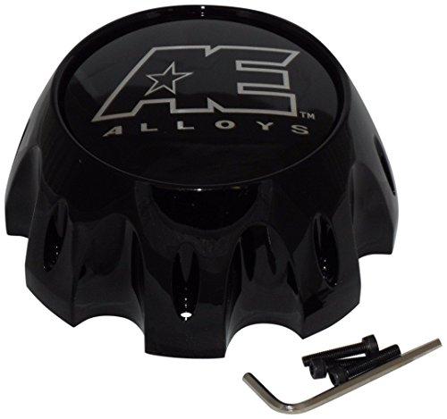 American Eagle AE Alloys 3313 AEWC 8 lug Gloss Black Center Cap - Ae Eagle