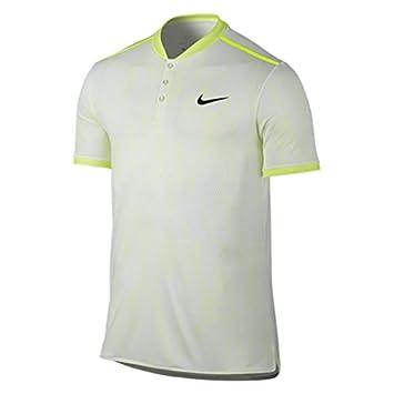 Nike nK Dry ADV SS Premier–Polo manches courtes pour homme M blanc/noir oStMN1L