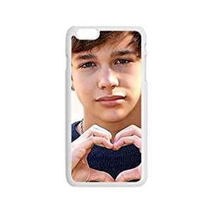 Custom Pop Rocker Star Austin Mahone Collage Hard Plastic Case For iPhone 6 and iPhone 6S
