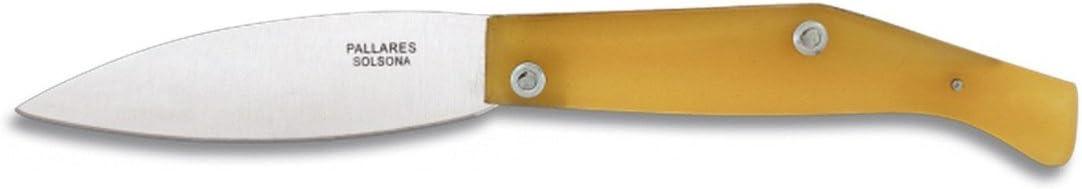 M.ALBAINOX - Navaja pallares nº2 carbon. Hoja:10 cm