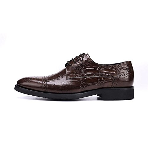 Marrone Men Lacer Xie 44 37 Dress Dimensioni Appartamento Low Oxford Casual Nero Business Casual Spring Shoes Leather 0xdf4qH