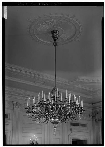 HistoricalFindings Photo: State Dining Room,White House,1600 Pennsylvania Avenue,Washington,DC,HABS,20