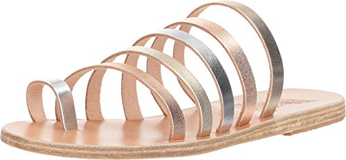 - Ancient Greek Sandals Women's Niki Pink Metal/Silver/Platinum Vachetta Metal Mix 40 M EU