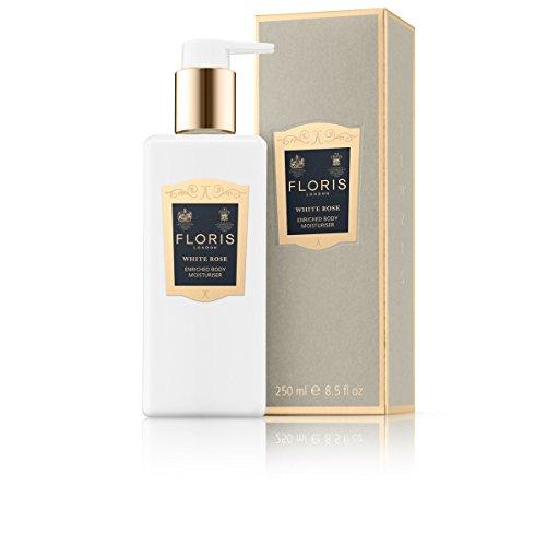 Floris London White Rose Enriched Body Moisturizer, 8.45 Ounce