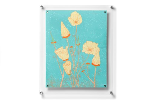 Wexel Art 19x23 Inch Magnetic Floating product image