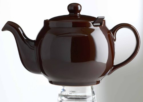 London Teapot Company-Chatsford 2-Cup Teapot with One Red Filter, (London Ceramic)