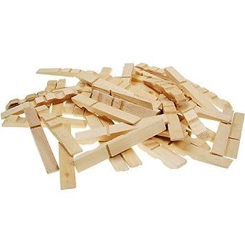 Bastelholzer Holz Wascheklammern Bastelklammern Teile Zum Basteln