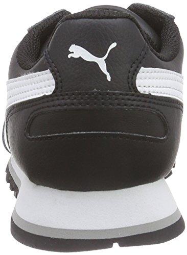 Puma St Runner Full L - Zapatillas para hombre Nero (Schwarz (black-white 01))