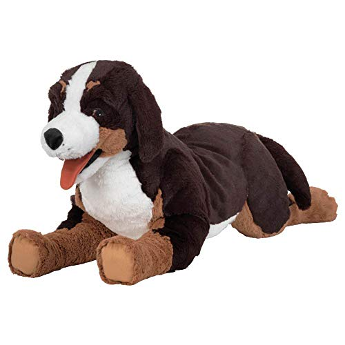 (IKEA ASIA HOPPIG Soft Toy Dog Bernese Mountain Dog)