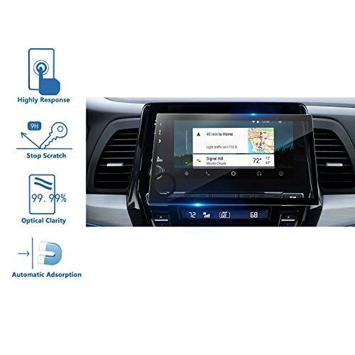 LFOTPP Honda Odyssey 2018 8 Inch Car Navigation Screen Protector Glass,[9H] Tempered Glass Infotainment Screen Center Touch Screen Protector Silk-Screen Printing Anti Scratch