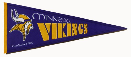 - Minnesota Vikings Medium Throwback Pennant