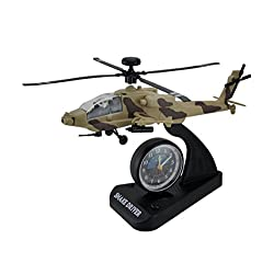 Snake Driver in the Sky Apache Helicopter Alarm Clock