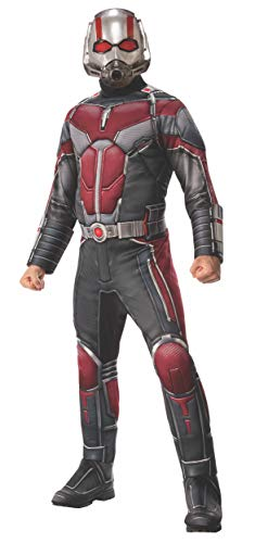 Avengers Halloween Costumes For Adults (Rubie's Adult Costume and Mask 700747 Marvel Avengers: Endgame Men's Deluxe Drax, As Shown,)