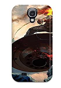 New Arrival Premium S4 Case Cover For Galaxy (ghost Rider) Sending Free Screen Protector