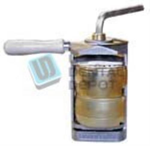 #61B HANDLER - Flask Compress - 4.12in x 2.5in x 7.5in - Two Flask [ ( 103420 Us Dental Depot