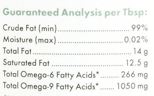 Wholistic Pet Organics Coconut Oil Supplement, 16 fl oz