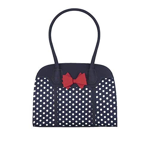Bag Ruby Spots Women's Handle Shoo Top Navy Large Kobe xvvwrpYq