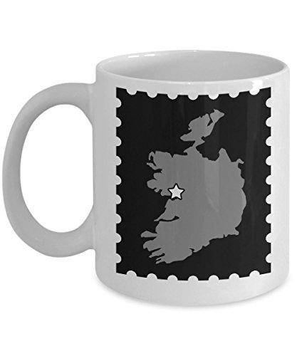 Galway Ireland Mug - Irish Lovers Hometown Gift - 11oz and 15oz Ceramic Cup for Coffee Tea Hot Chocolate. Drinks - 11 oz