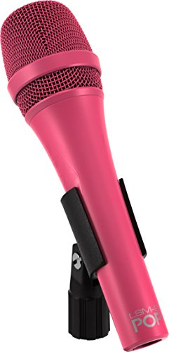 MXL Mics Dynamic Microphone, XLR Connector, MAGENTA (LSM-9-POP-MAGENTA)