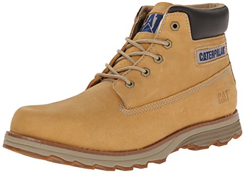 Caterpillar Men's Founder Chukka Boot, Honey Reset, 10 M US by Caterpillar